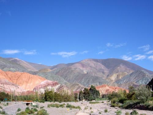 Cerro de los 7 Colores view, Purmamarca, Argentina