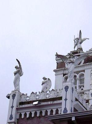 Balcony of Basilica, Cartago, Costa Rica