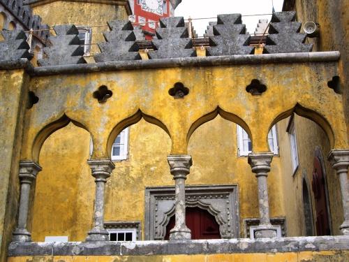 Palacio de Pena in Sintra, Portugal