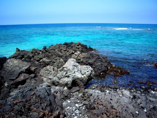 Blue Black. Kona, Hawaii