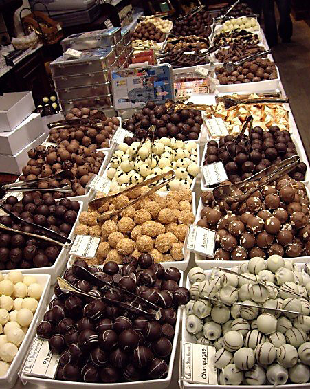 Chocolates. Brussels, Belgium.