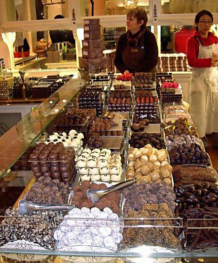 More chocolate. Brussels, Belgium.