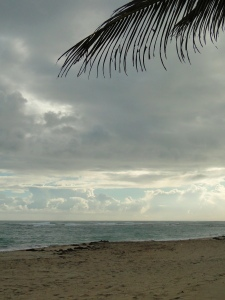 Early morning. Cabarete, Dominican Republic