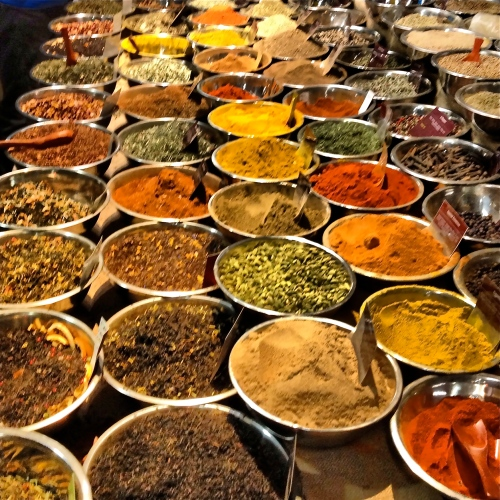 Spices. Chelsea Market, NYC.