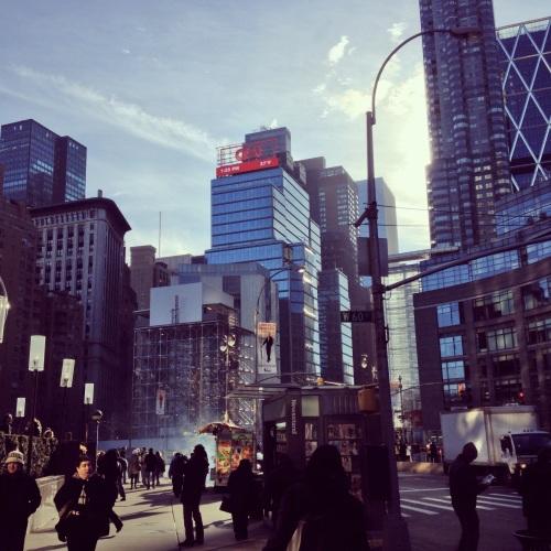 Columbus Circle. NY, NY.