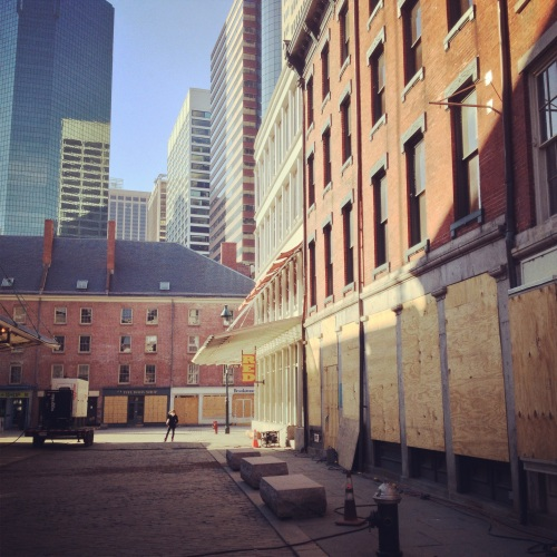 South Street Seaport, post-Hurricane Sandy. NY, NY.
