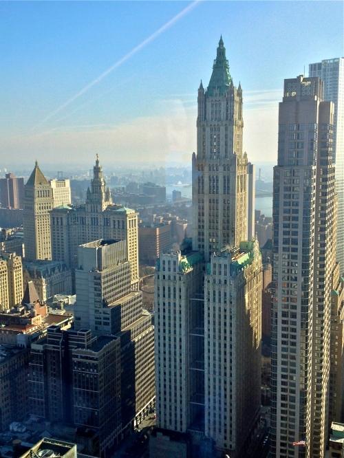 Skyscrapers. NY, NY.