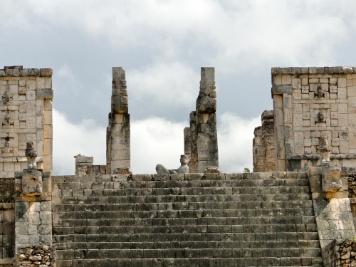 Chac Mool. Temple of the Warriors. Chichen Itza.