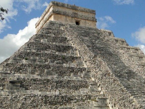 Temple of Kukulkan. Chichen Itza.