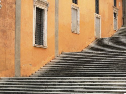 Steps. Rome, Italy.